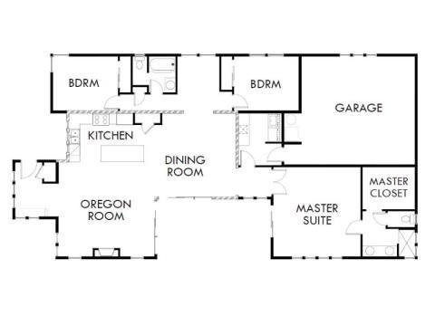 built by Arbor Builders, 1413 Kingston Avenue, Bend, Oregon