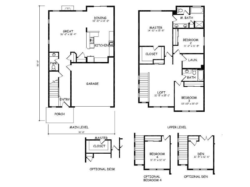 Built by hayden homes 63047 woodbridge place bend oregon for Hayden homes floor plans