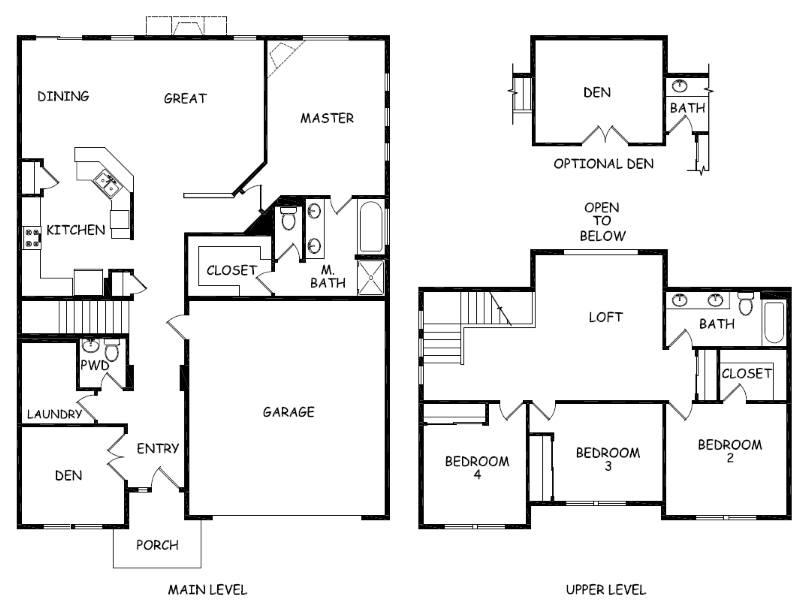 Hayden homes floor plans thefloors co for Bend oregon house plans