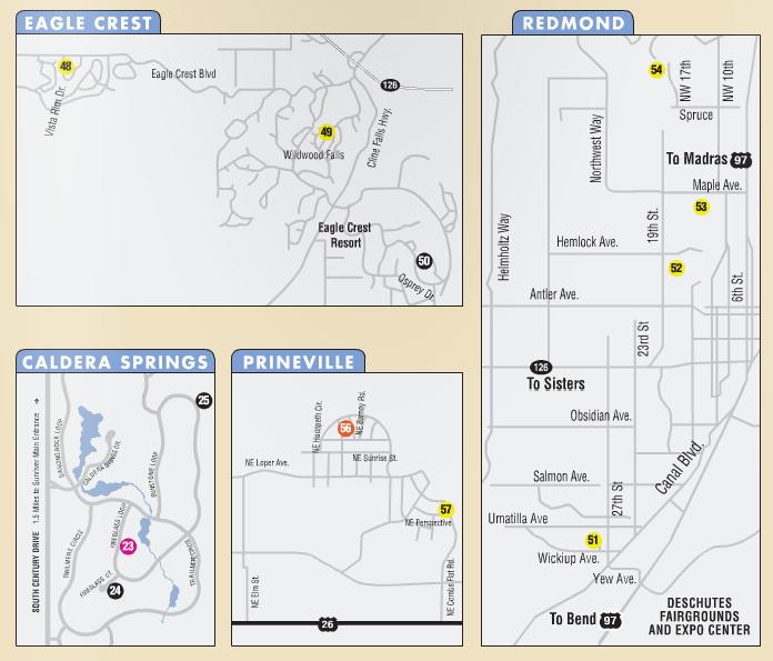 Coba Tour Of Homes Map